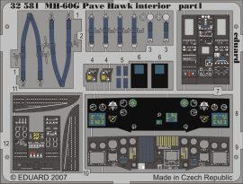 Eduard MH-60G interior (Academy)
