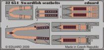 Eduard Swordfish seatbelts (Trumpeter)