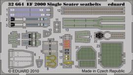 Eduard EF 2000 Single Seater seatbelts (Revell)