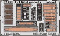 Eduard Ar 196A-3 seatbelts (Revell)