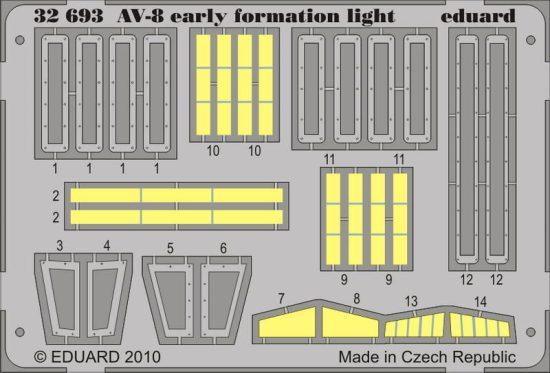 Eduard AV-8 early formation light (Trumpeter)
