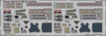 Eduard Hawk T1 Mk.53 seatbelts (Revell)