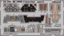 Eduard Bf 109E-4 interior S.A. (Dragon, Cyber Hobby)