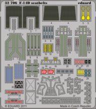 Eduard F-14D seatbelts (Trumpeter)