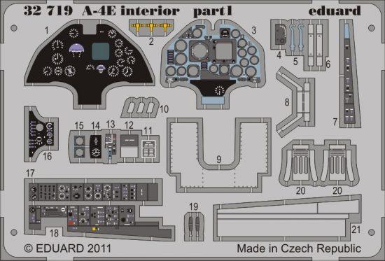 Eduard A-4E interior S.A. (Trumpeter)