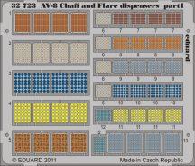 Eduard AV-8 Chaff and Flare dispensers (Trumpeter)