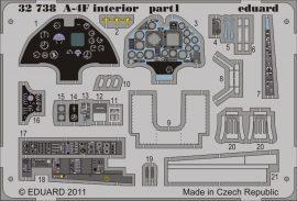 Eduard A-4F interior S.A. (Trumpeter)