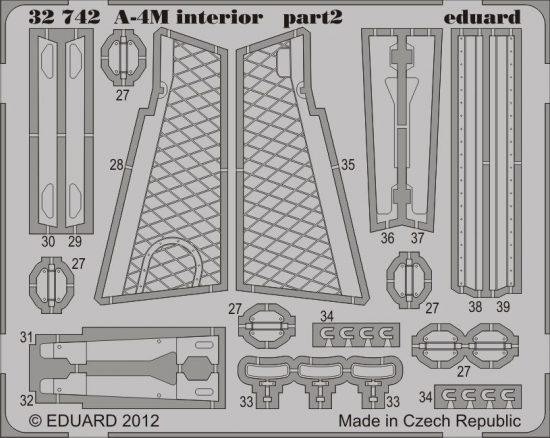 Eduard A-4M interior S.A. (Trumpeter)