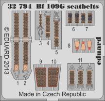Eduard Bf 109G seatbelts (Revell)