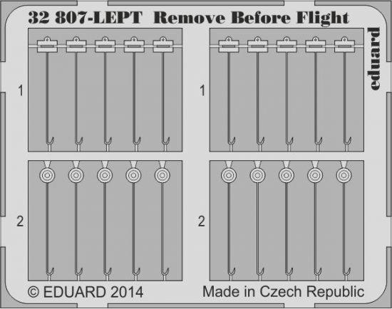 Eduard Remove Before Flight FABRIC