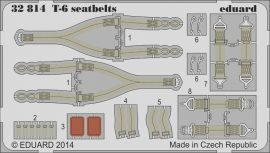 Eduard T-6 seatbelts (Kitty Hawk)