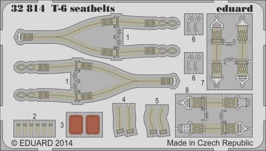 Eduard T-6 seatbelts (Kitty Hawk)