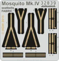 Eduard Mosquito Mk.IV seatbelts FABRIC (Hong Kong Models)