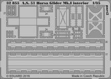 Eduard A.S. 51 Horsa Glider Mk.I interior (Bronco)