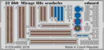 Eduard Mirage IIIc seatbelts (Italeri)
