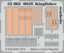 Eduard OS2U Kingfisher seatbelts (Kitty Hawk)