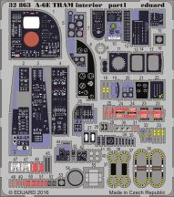Eduard A-6E TRAM interior (Trumpeter)