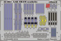 Eduard A-6E TRAM seatbelts (Trumpeter)