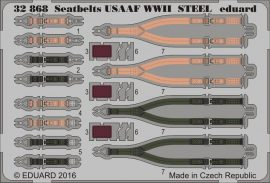 Eduard Seatbelts USAAF WWII STEEL