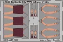 Eduard Seatbelts Italy WWII fighters STEEL