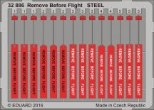 Eduard Remove Before Flight STEEL