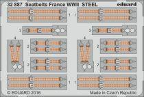 Eduard Seatbelts France WWII STEEL