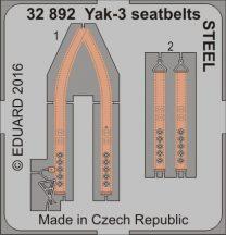 Eduard Yak-3 seatbelts (Special Hobby)