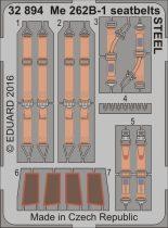 Eduard Me 262B-1 seatbelts (Revell)