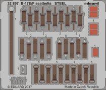 Eduard B-17E/ F seatbelts STEEL (HK Models)