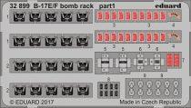 Eduard B-17E/ F bomb rack (HK Models)