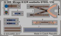 Eduard Mirage III E/ R seatbelts STEEL (Italeri)