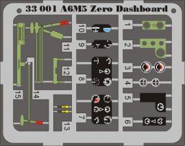 Eduard A6M5 Zero dashboard (Tamiya)
