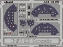 Eduard F4U-1 dashboard (Trumpeter)