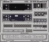 Eduard UH-60L dashboard (Academy)