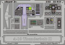 Eduard A-10 dashboard (Trumpeter)