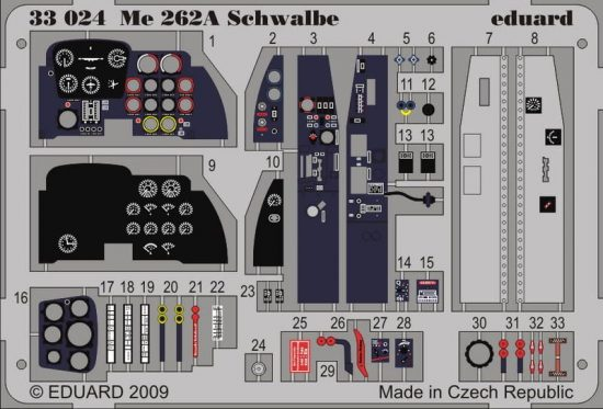 Eduard Me 262A Schwalbe S.A. (Trumpeter)