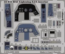 Eduard BAC Lightning F.2A interior S.A. (Trumpeter)