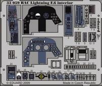 Eduard BAC Lightning F.6 interior S.A. (Trumpeter)