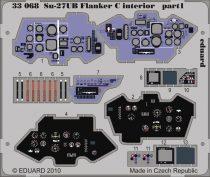 Eduard Su-27UB Flanker C interior S.A. (Trumpeter)