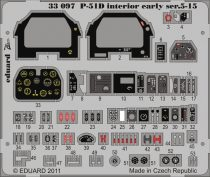 Eduard P-51D Interior early ser.5-15 S.A. (Tamiya)