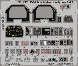Eduard P-51D Interior early ser.5-15 S.A. (Tamiya)