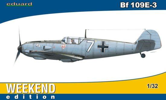 Eduard Bf 109E-3 Weekend makett