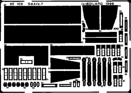 Eduard Sd.Kfz.7 (Tamiya)