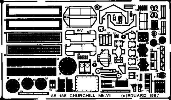 Eduard Churchill Mk.VII (Tamiya)