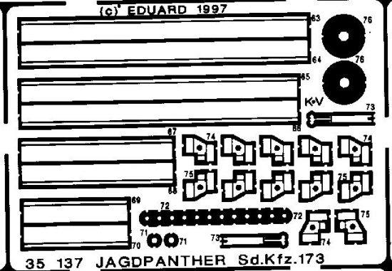 Eduard Jagdpanther Sd.Kfz.173 (Italeri)