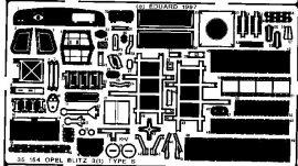 Eduard Blitz 3(t) type S (Italeri)