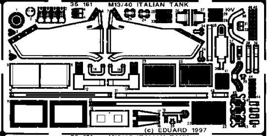Eduard M-13/40 Italian Tank (Tamiya)