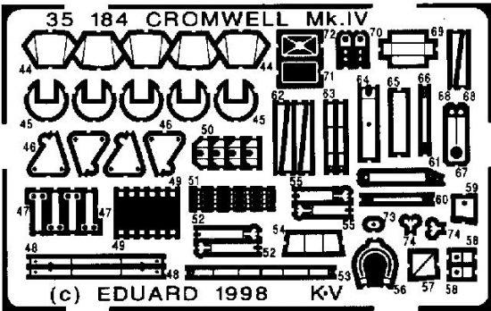 Eduard Cromwell Mk.IV (Tamiya)