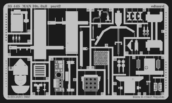 Eduard MAN 10t I 8x8 (Revell)
