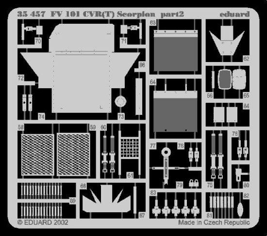 Eduard FV 101 CVR (T) Scorpion (AFV Club)